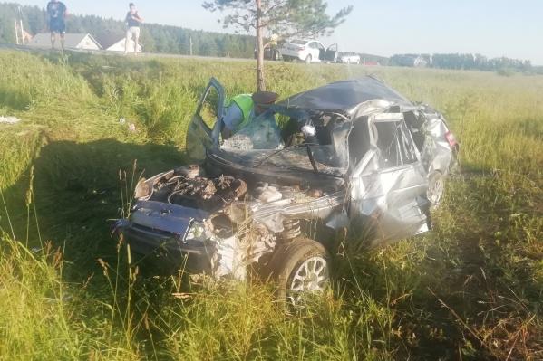 Страшное ДТП произошлона 11-м километре дороги Глубокое — Бобровский