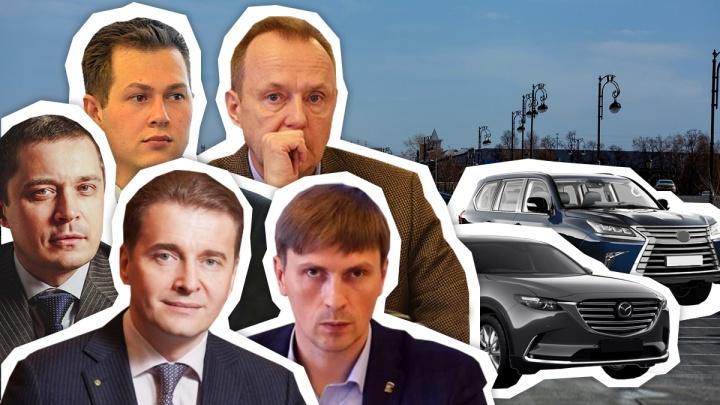 ВИП-гаражи депутатов Тюменской облдумы: сравниваем, как за год изменились их частные автопарки