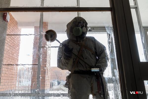 На этот раз волгоградцев пугают медиками с санобработкой углекислым газом