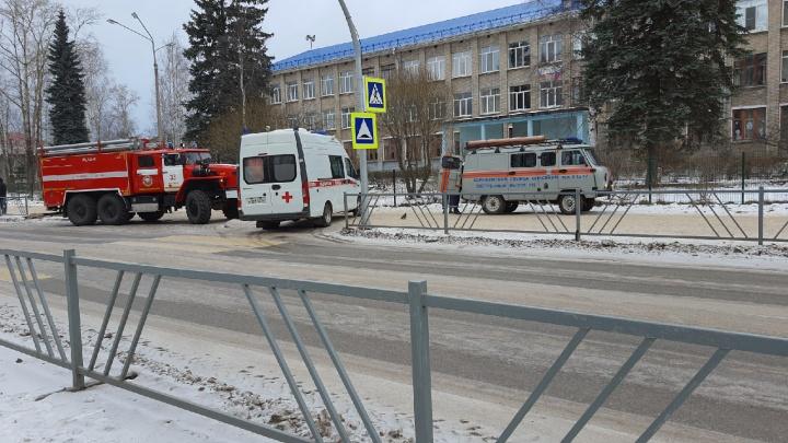 В Коряжме эвакуировали школу из-за сообщения о минировании