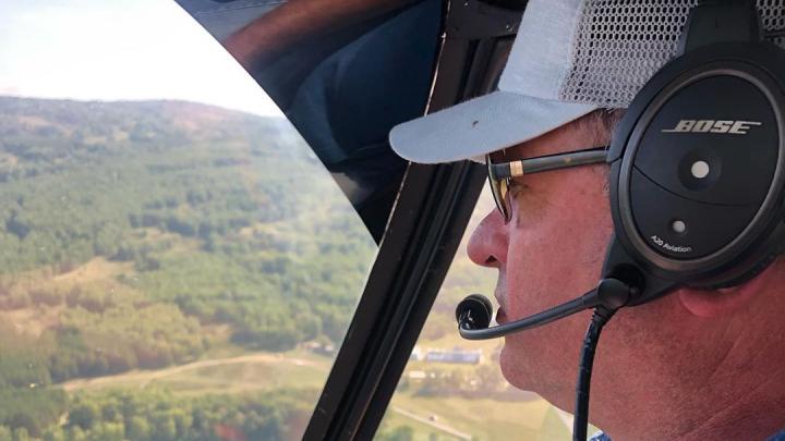 Отец мэра Нефтекамска пугал стадо коров на своем вертолете, есть видео