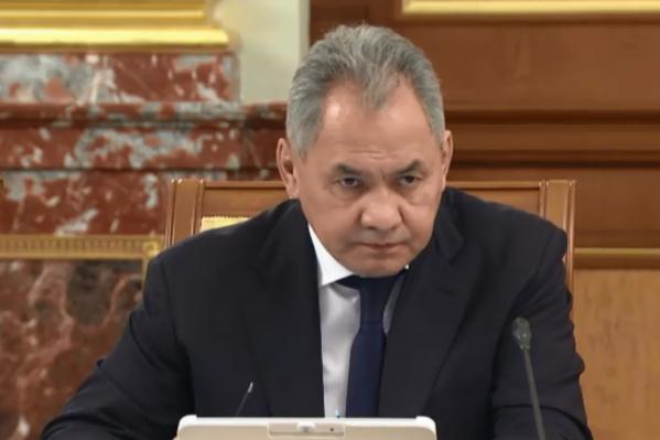 Сергей Шойгу сказал, что к строительству подключили инженерные и железнодорожные войска