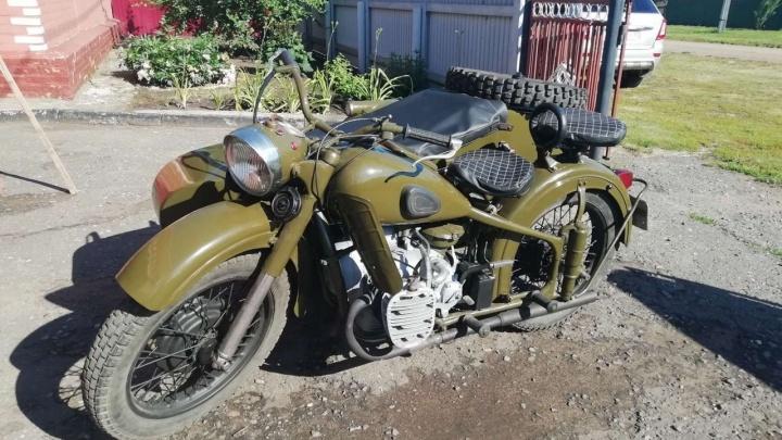 Омич выставил на продажу мотоцикл 1957 года по цене подержанной «Лады»