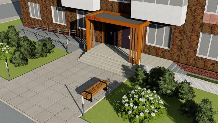 Найди лису: в Дзержинском районе возводят жилой комплекс с оригинальной концепцией