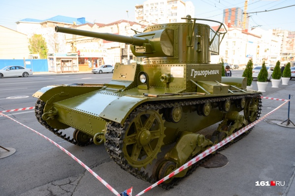 В сентябре 2019 года танк подняли со дна реки Кундрючья в хуторе Евсеевском Усть-Донецкого района. На его реставрацию ушло восемь месяцев