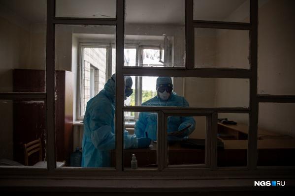 В регионе продолжает расти число заразившихся коронавирусом