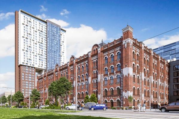 ЖК «Мельница» — это уникальный жилой комплекс площадью 19 000 кв. м
