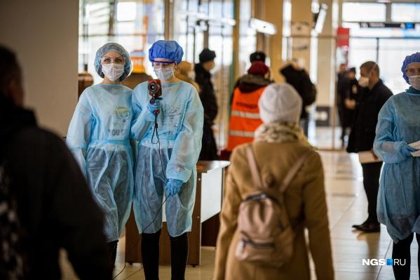 Самолёт с пятой больной женщиной прилетел в Новосибирск 19 марта