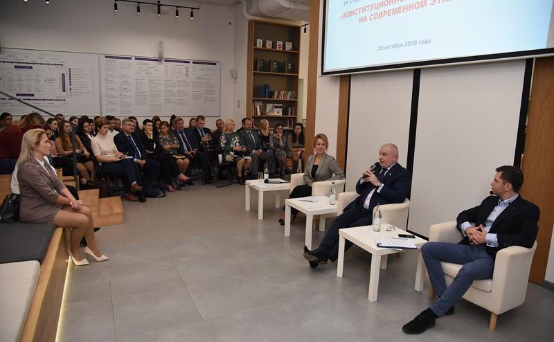 встреча со студентами юридических вузов Ростова-на-Дону