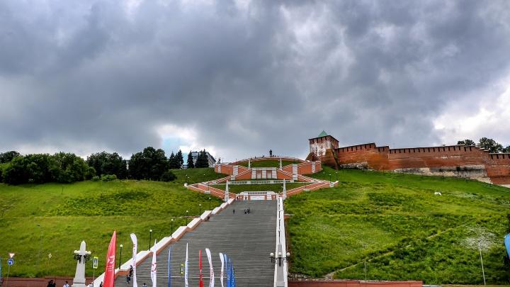 Главную лестницу Нижнего Новгорода восстановят уже к концу года