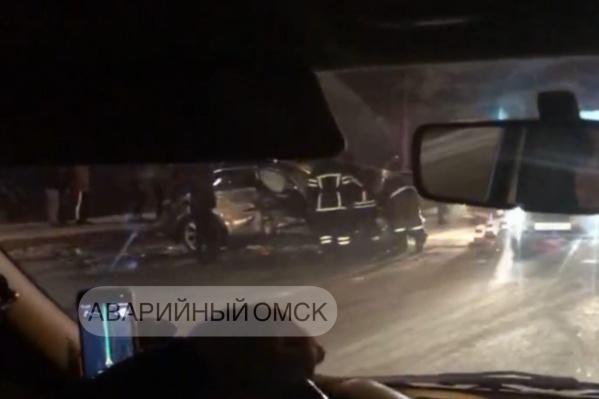 Авария произошла в районе остановки «Заречная»