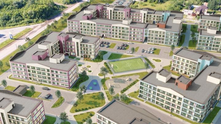 Среднеэтажная застройка, река и сосны: «СтройПанельКомплект» объявил старт продаж в «Экопарк Сосновый»