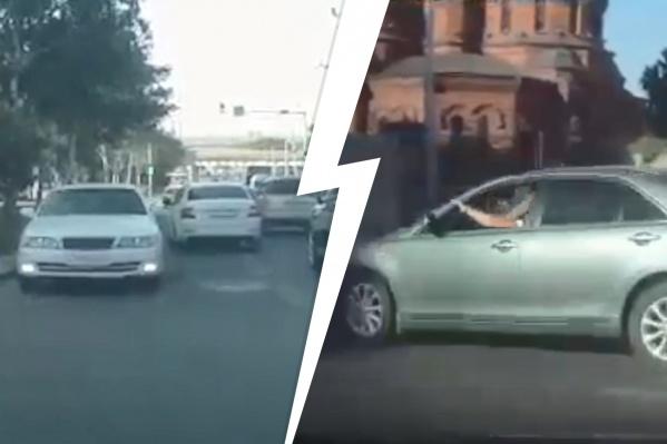 Движения «Тойоты» записали на видео в 08:45