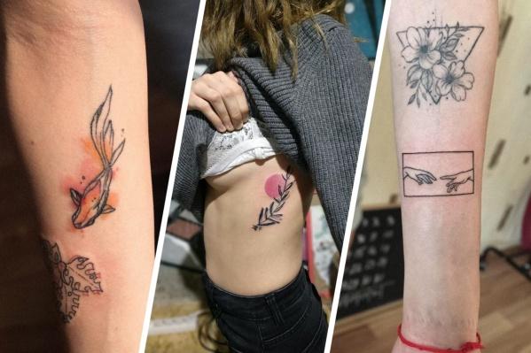 У этой сибирячки на теле 7 разных татуировок, и это еще не предел!