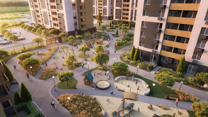 А куда выходят ваши двери: в Тюмени начали строить жилой квартал прямо на берегу озера