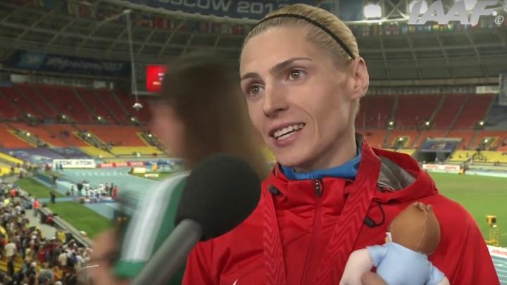 Волгоградка Антонина Кривошапка завоевала золото на чемпионате России по лёгкой атлетике