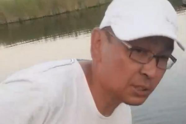 Мужчина приехал на рыбалку только с удостоверением госслужащего