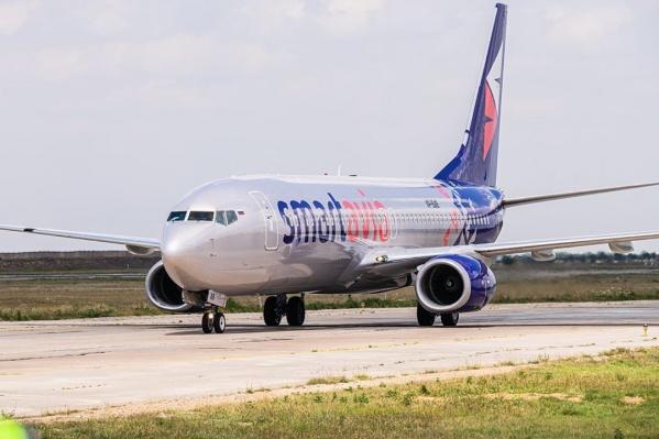 Авиакомпания «Смартавиа» добавила еще два рейса до Санкт-Петербурга в свое расписание