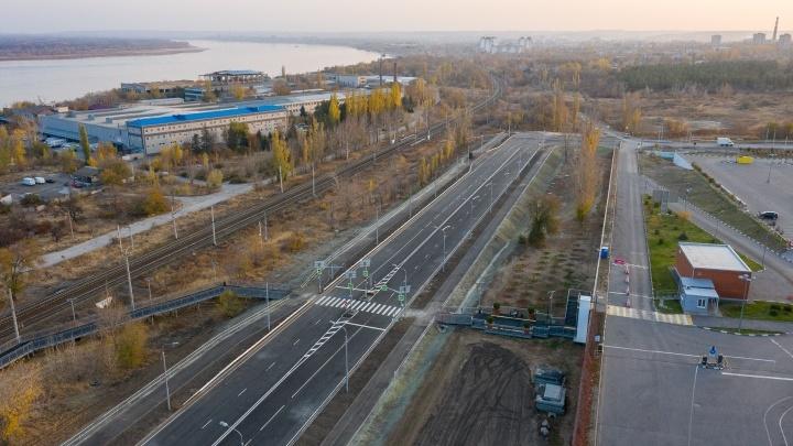 Дублер Второй Продольной магистрали в Волгограде запустят к концу года