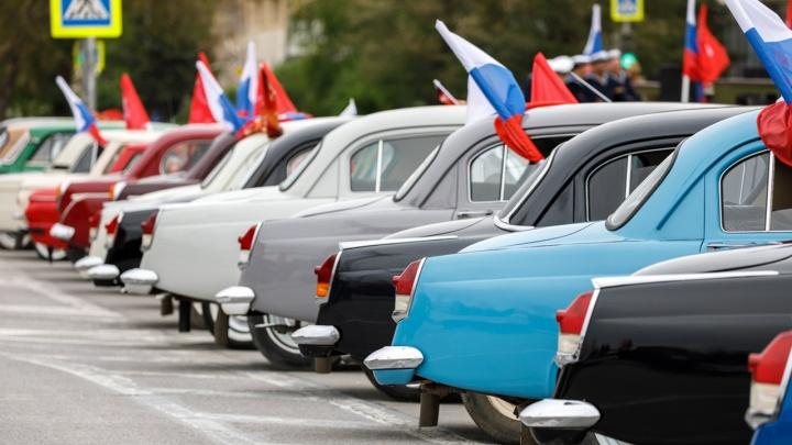 Полиция Волгограда будет штрафовать за флаги из окон автомобилей