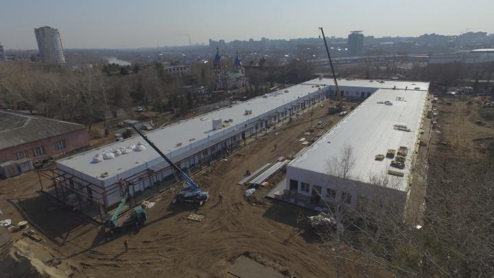В Омске меньше чем за два месяца построят медицинский центр: смотрим, что сделано уже сейчас