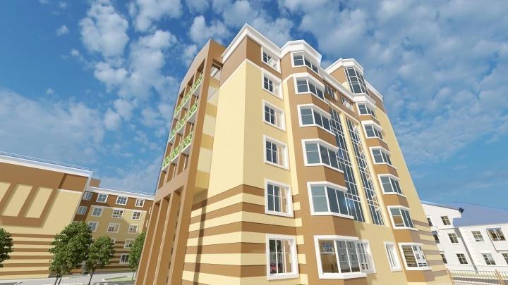 Новый стоквартирный дом достраивают в Калининском районе