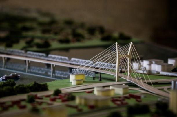 Четвертый мост в Новосибирске готов на 20%