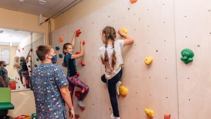 Для детей с задержкой развития в «Евромеде» открыли зал реабилитации