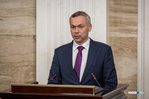 За год глава Новосибирской области заработал почти в два раза больше, чем мэр Новосибирска
