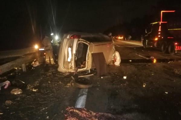 Авария случилась на трассе Москва — Челябинск, недалеко от выезда из города