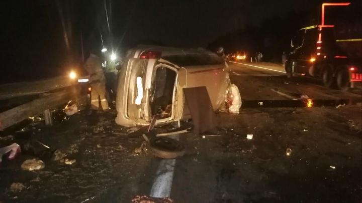 Ночное ДТП с двумя погибшими под Челябинском устроила при обгоне 19-летняя девушка