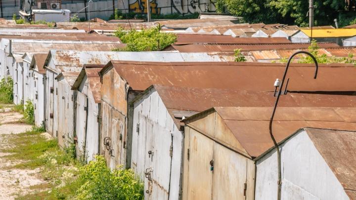 Жители Самары массово легализуют гаражи
