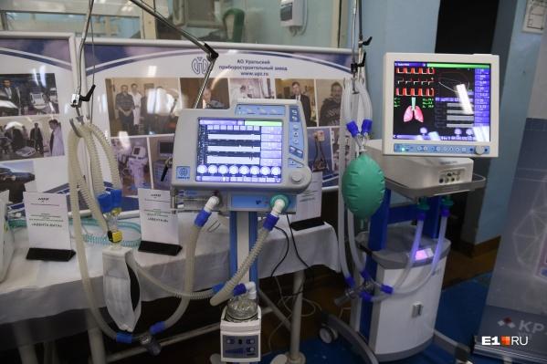Пациент был подключен к аппарату ИВЛ
