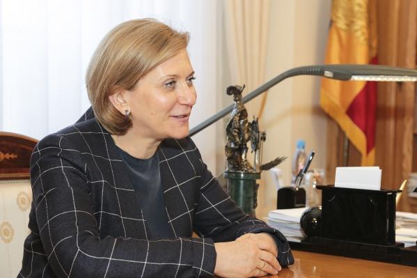 Попова обсудит с губернатором наличие санврачей на пограничных пропусках