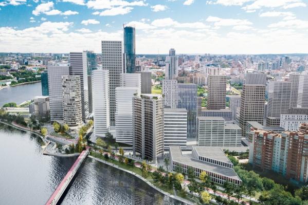 Проект разрабатывало голландское бюро KCAP Architects&Planners