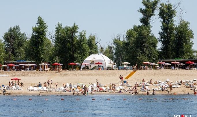 В Волгограде открывают первый пляж