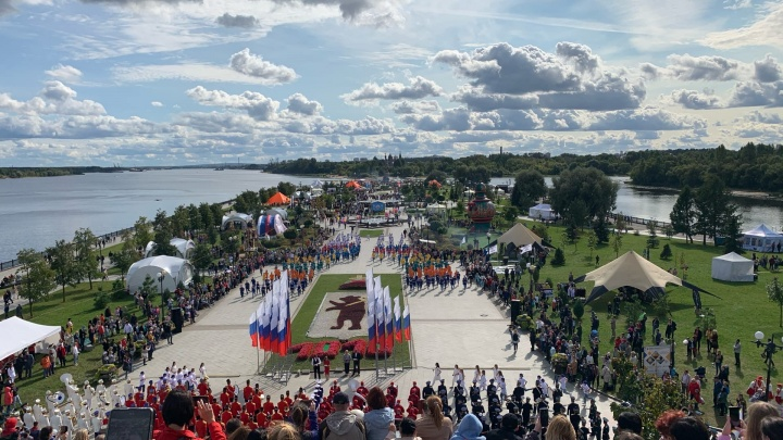 Семейный выходной: филиал Россельхозбанка праздновал 1010-летие Ярославля вместе с жителями