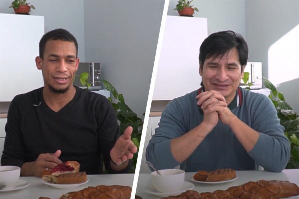 Джоел (слева) уже 15 лет живет в Архангельске, а Джон-Келли (справа) — 5. Обоих на Север привела любовь