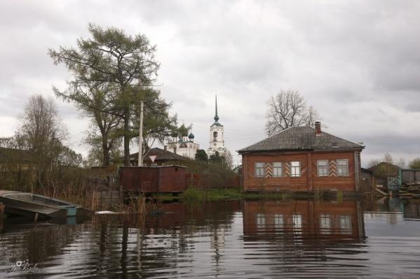 Так выглядит старинный город Сольвычегодск<br>