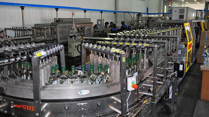 Омская область по выпуску водки обошла весь Казахстан