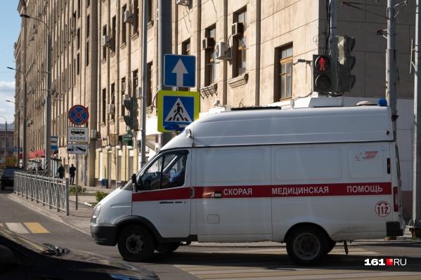 """Скорую помощь ростовчане за сутки вызвали <nobr class=""""_"""">1149 раз</nobr>"""