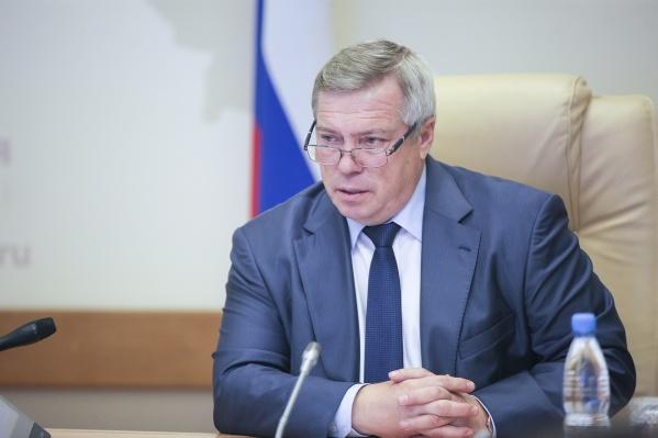 Василий Голубев возглавил Ростовскую область в 2010 году