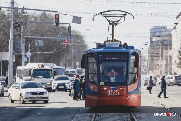 Власти рассчитывают на то, что ситуация с транспортом в Уфе станет лучше