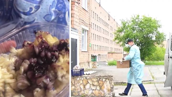 Макароны с повидлом и жилы вместо мяса: работники ачинского инфекционного госпиталя жалуются на меню