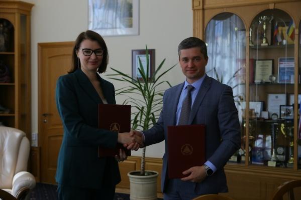 По результатам подписанного соглашения стороны подготовят дорожную карту взаимодействия вуза с национальным цифровым провайдером
