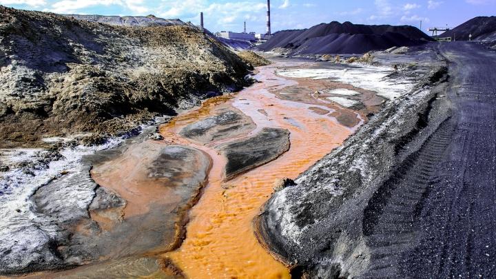 Этюд в рыжих тонах: репортаж с речки, которая незаметно травит челябинскую воду