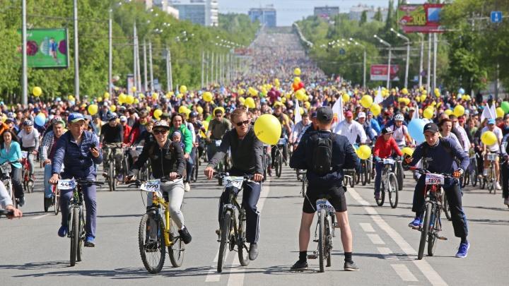 В «День 1000 велосипедистов» на улицах Уфы перекроют движение