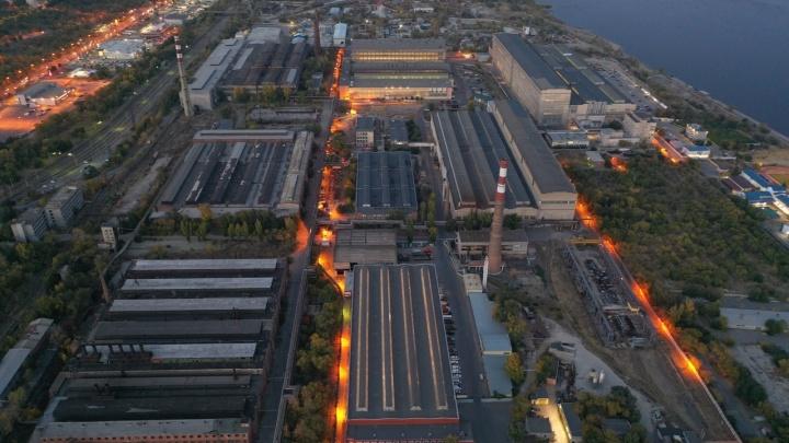 На заводе «Титан-Баррикады» в Волгограде произошел крупный пожар