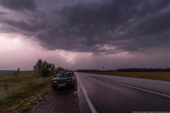 Будьте осторожны на дорогах в такую непогоду