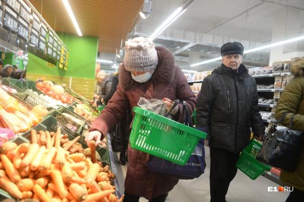 За прошлую неделю выросли цены на ряд овощей и фруктов